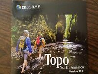 DeLorme Topo North America 10.0 Brand New and Sealed!