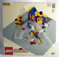 Baukästen & Konstruktion LEGO Baukästen & Sets Lego Platte 1x2 mit 1x1 schräge Blau 5 Stück 628 #