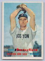 1957 - BOB PORTERFIELD - Topps Baseball Card # 118 - BOSTON RED SOX