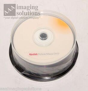 Kodak Movie DVD v9.0 , 25 pack of DVD's only Cat 842 3600