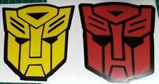 Transformers  Sticker / car decal. BUMBLEBEE  & OPTIMUS PRIME HEADS