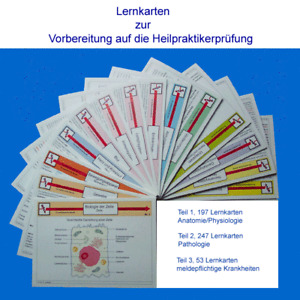 Heilpraktiker Prüfung Lernkarten