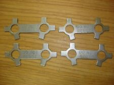 Lot of 4!  1A08  2A016  4A032 Engine Connecting Rod Lock Plate!!!! 9786E113-2