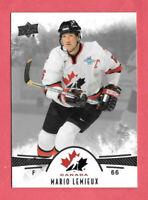 2016-17 Mario Lemieux 10 Card Lot Upper Deck Team Canada Juniors - Penguins
