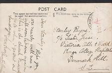 Genealogy Postcard - Family History - Payne - Denmark Hill - London   BH4989
