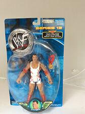 RARE.WWF.WWE.JAKKS PACIFIC.2001.KURT ANGLE..SERIES 12.SIGNATURE SERIES .TRON