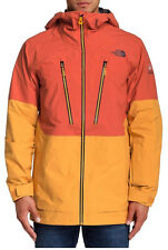 The North Face Men's Free Thinker Medium Snow Board Orange Jacket New!!