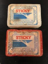 (2) Vintage Rare 80's bars Of Wax Research Surf Wax Surfboard Surfing
