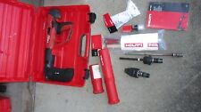 HILTI DX-460 MX72 F-8& FIE-L   powder actuated nail gun kit NICE &COMBO   (809)