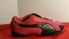 Women's Puma Size 6.5 Mostro Perf Pink & Black mesh sneaker trainer Shoes