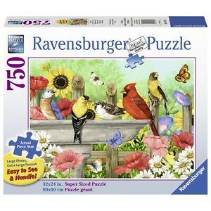 Ravensburger - Bathing Birds Jigsaw Puzzle 750pc Large Format
