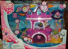 NEW My Little Pony Ponyville Mermaid Pony Castle Playset Pinkie Pie NRFB