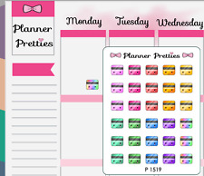 P1519 Kawaii Credit Cards Planner Stickers
