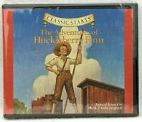 NEW Classic Starts Adventures of Huckleberry Finn CD Retold Mark Twain Children
