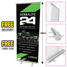 HERBALIFE Printed Roller Banner/Pop/Pull up Exhibition Stand - HRB05