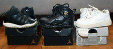 Lot of 5 Pairs of Nike Air Jordan Toddlers Jordan 11 Air Force 1 Jordan 10 NYC