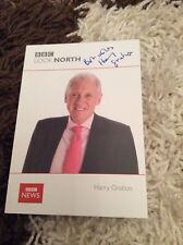 HARRY GRATION (BBC LOOK NORTH) SIGNED CAST CARD