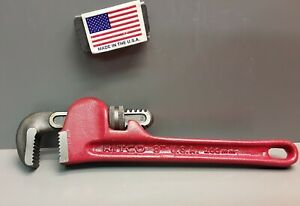 "Ridgid RITCO 8"" Pipe Wrench 1150 (23392)  I-Beam Handle   New Old Stock  USA"