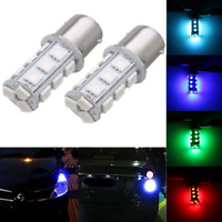 2x 12V 1156 BA15S 18-SMD LED Turn Signal Reverse Backup Light Bulb Car Truck RV