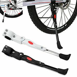 Réglable Béquille Vélo bicyclette VTT support latérale en alliage d'aluminium FR