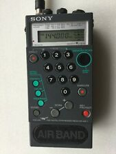 Sony Air-7 Air Band Synthesized Receiver Radio Scanner