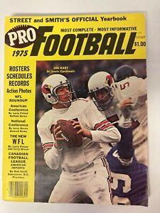 1975 JIm Hart, Cardinals, Street & Smith Pro Football Yearbook