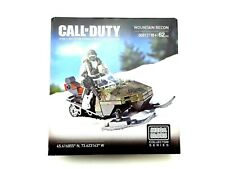 Mega Bloks Call of Duty Mountain Recon Snowmobile Buildable Collector Toy