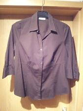 Damenbluse Gr.44, braun, Yessica, Business