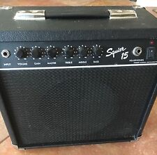 FENDER SQUIER 15 Amp ~ PORTABLE/BLACK