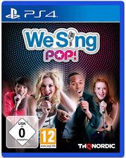 Sony ps4 Playstation 4 Jeu *** We Sing POP *** neu*new*55