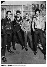 The Clash POSTER 60x90cm NEW * Chalk Farm London 1977 * punk band Joe Strummer