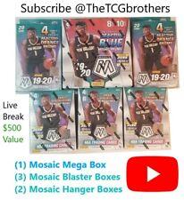 Memphis Grizzlies Break #161 19-20 Mosaic Mega Blaster Hanger Box Hobby Zion