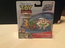 Disney Pixar Toy Story 3 Buddy Pack Twitch And Hero Buzz Lightyear MIP