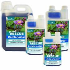 All Pond Solutions Pond Rescue Tap Water Dechlorinator Treatment Koi Fish Safe