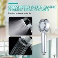 Double-Sided Shower Head Energy Water Saving Mist Spray Comfort Bath SPA 3 L2I4