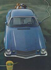 VINTAGE 1975 CHEVROLET CAMARO DEALER ADVERT-350CI V8 MUSCLE CAR
