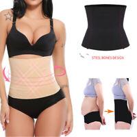 Women's Fat Burner Sauna Tummy Tuck Belt Body Shaper Magic Girdle Belly Slimming