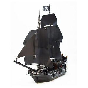Pirates of the Caribbean Black Pearl Ship Bluilding Block Brick Toy Child Gift