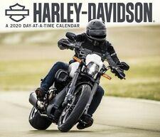 HARLEY-DAVIDSON - 2020 DAILY DESK CALENDAR -  BRAND NEW - 200005