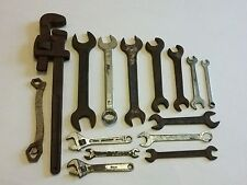 Wrench Spanners Tools Lot Adjustable BRITOOL Snail Brand SUPERSLIM