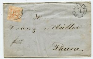 AD Thurn & Taxis Brief Neustadt Pausa 1864
