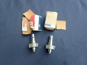 1965-68 Cadillac electric vent window motor drive gears, LH and RH, NOS!