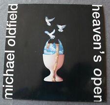 Michael Oldfield,  heaven's open, LP - 33 tours