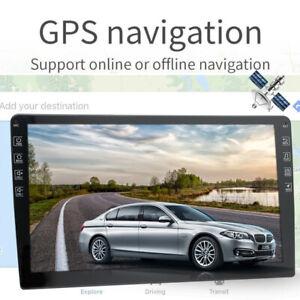 9 Inch Android 9.1 Car Stereo GPS Navi MP5 Player 2 Din WiFi Quad Core FM Radio