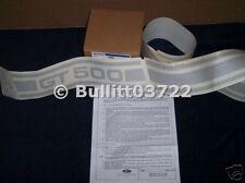 2007 2008 2009 FORD MUSTANG SHELBY GT500 GT 500 LEFT SIDE BODYSIDE STRIPE