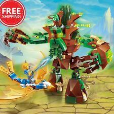 286pcs Enlighten Building Block War of Glory Castle Knights War Of Ancient Tree1