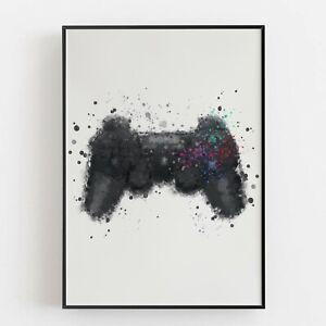 P0011 | Control Pad | Wall Art Print | Poster | Gamer | Games Room | Kids Room