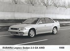 PRESS - FOTO/PHOTO/PICTURE - SUBARU LEGACY Sedan 2.5 GX AWD 1998