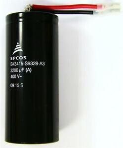EPCOS B43415-S9328 3200uF 400V Photo Flash Capacitor TDK High Power PULSE Xenon