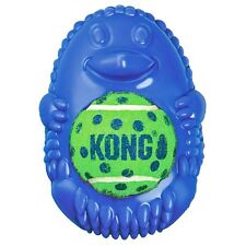 Kong Tennis Pals Ball & Squeaker Dog Toy - Hedgehog Colors Vary (Free Shipping i